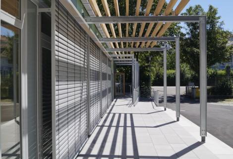 Fertigstellung Aufstockung Mittelschule Landau
