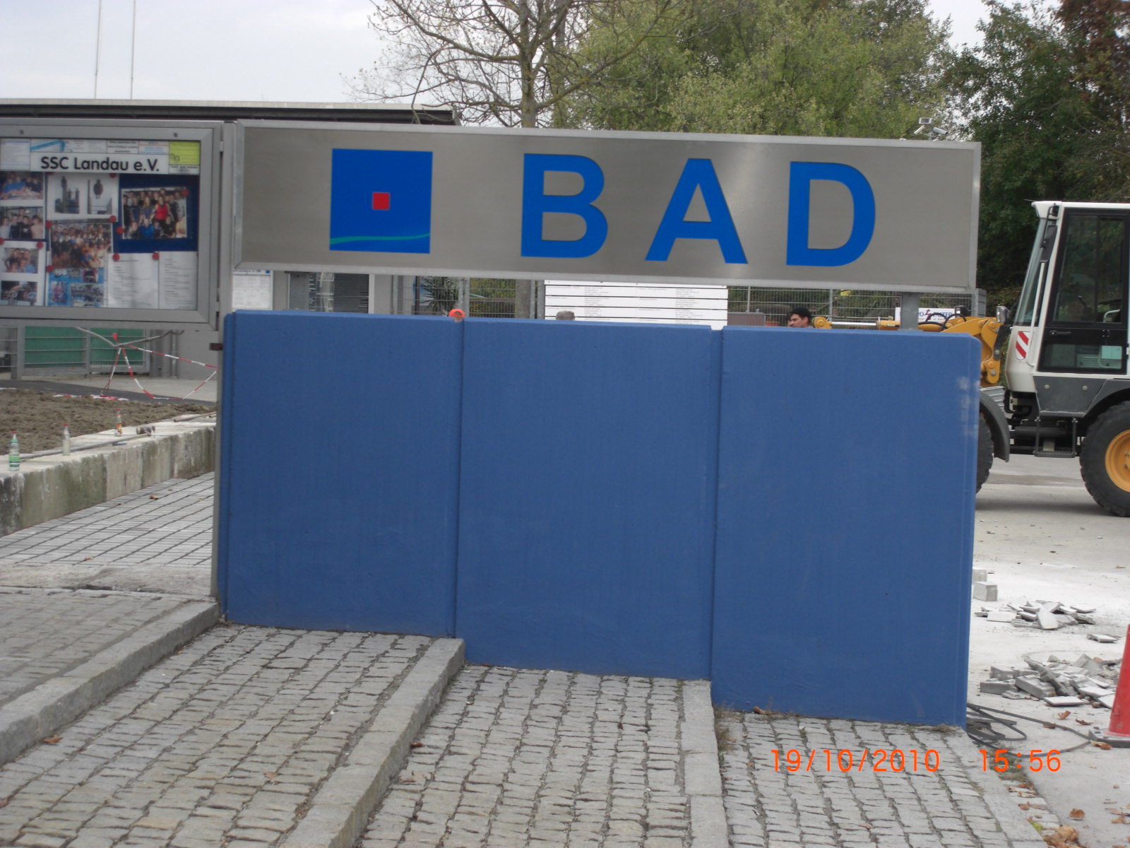 Neues Projekt: Neubau Freibad Landau und Sanierung/Erweiterung Hallenbad Landau