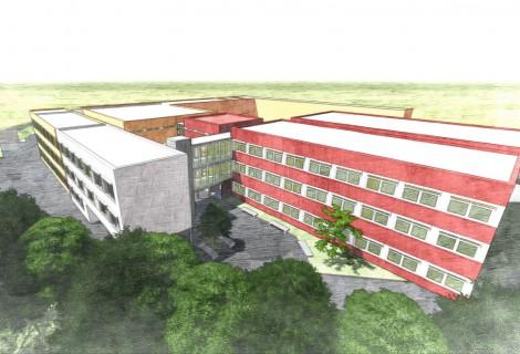 Baubeginn Erweiterung Grund- und Mittelschule Landau