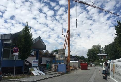 UPDATE: 1. Bauabschnitt Generalsanierung Schulschwimmbad Landau a. d. Isar