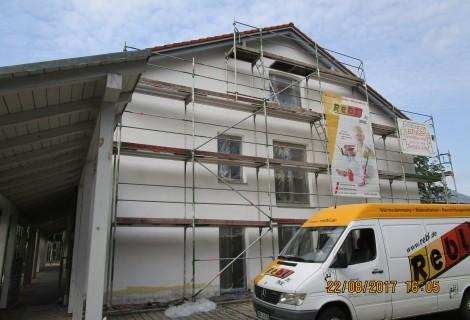 Sanierungsarbeiten Lebenshilfe Landau