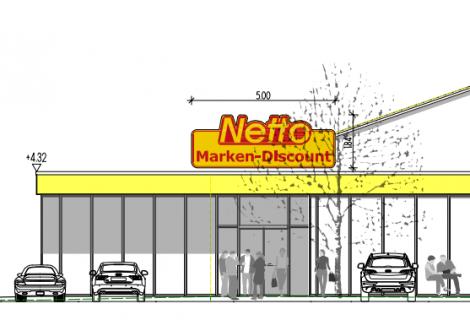 Teilabbruch und Erweiterung Netto Verbrauchermarkt Reisbach