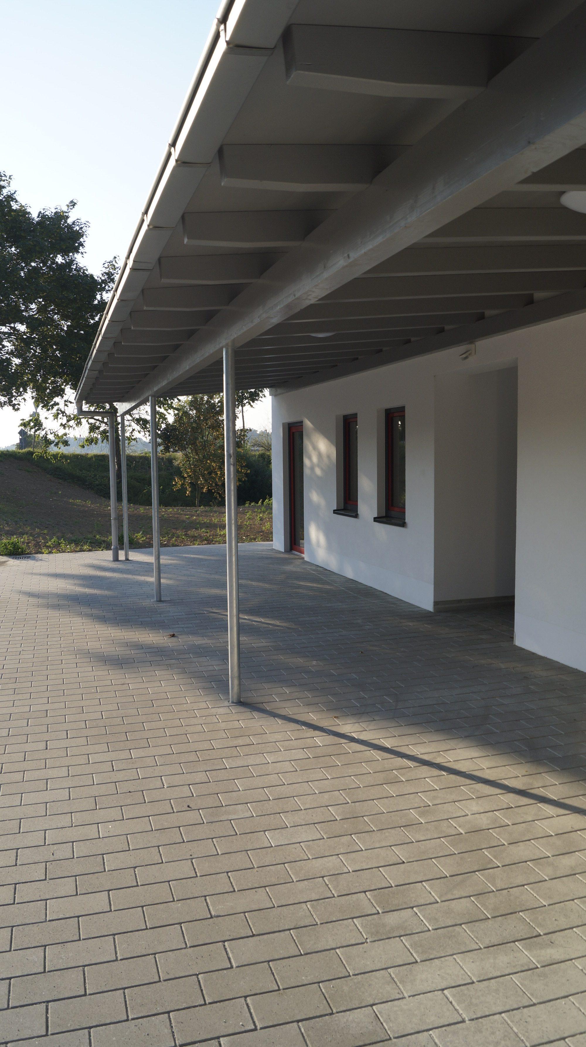 Fertigstellung Neubau Feuerwehrhaus Fichtheim