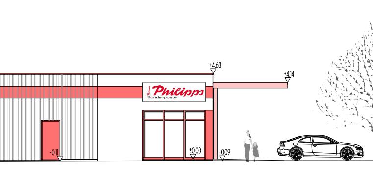 Fertigstellung und Eröffnung Thomas Philipps Handelsimmobilie