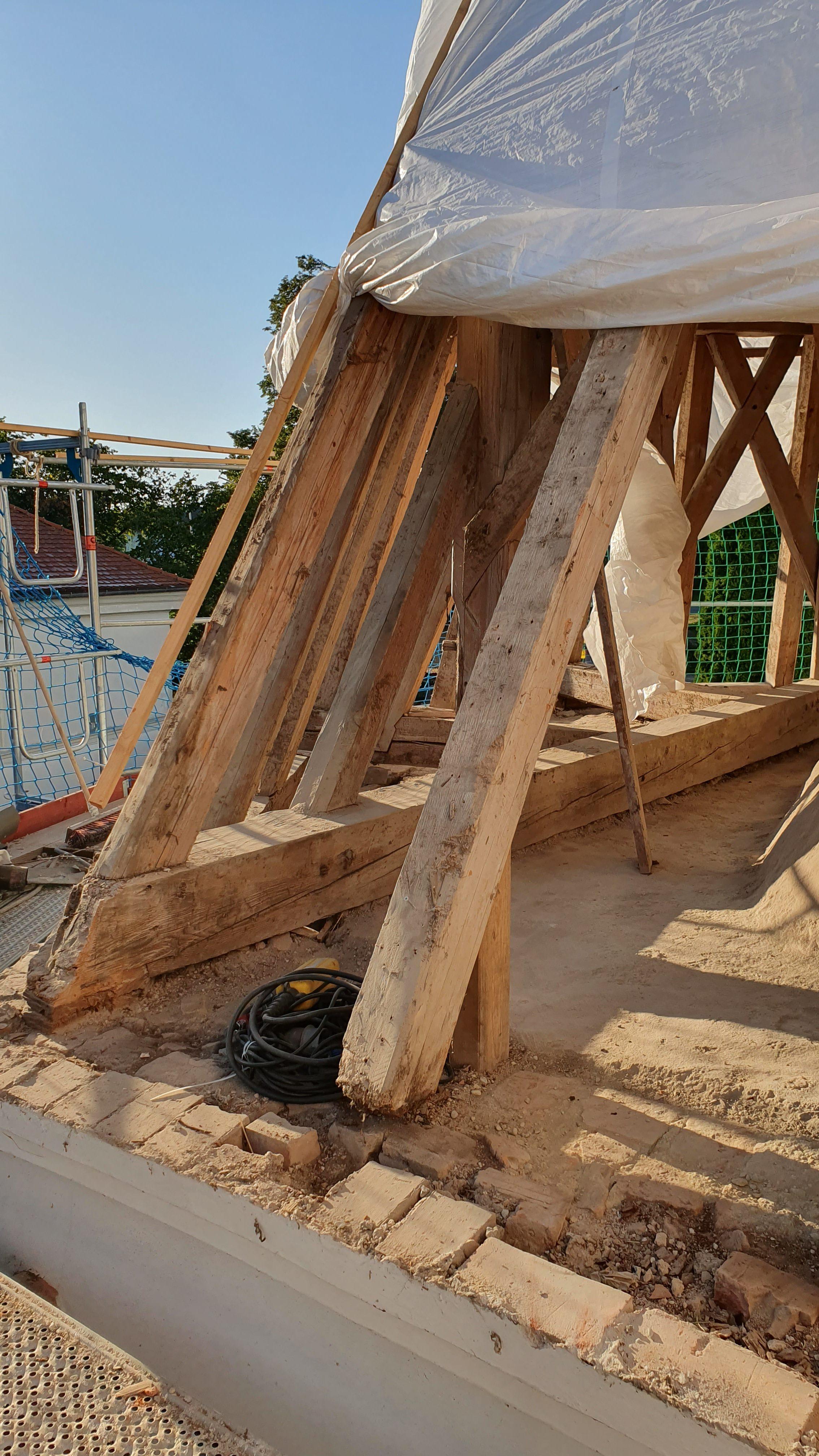 Baubeginn Sanierung Kirche Zeholfing