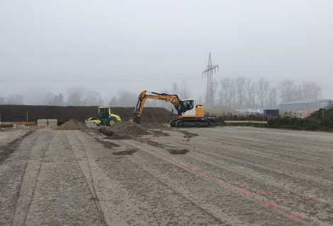 Baubeginn Neubau Radiologie Dingolfing