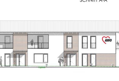 Neubau Tagespflege mit Sozialstation und Wohnen in Eichendorf
