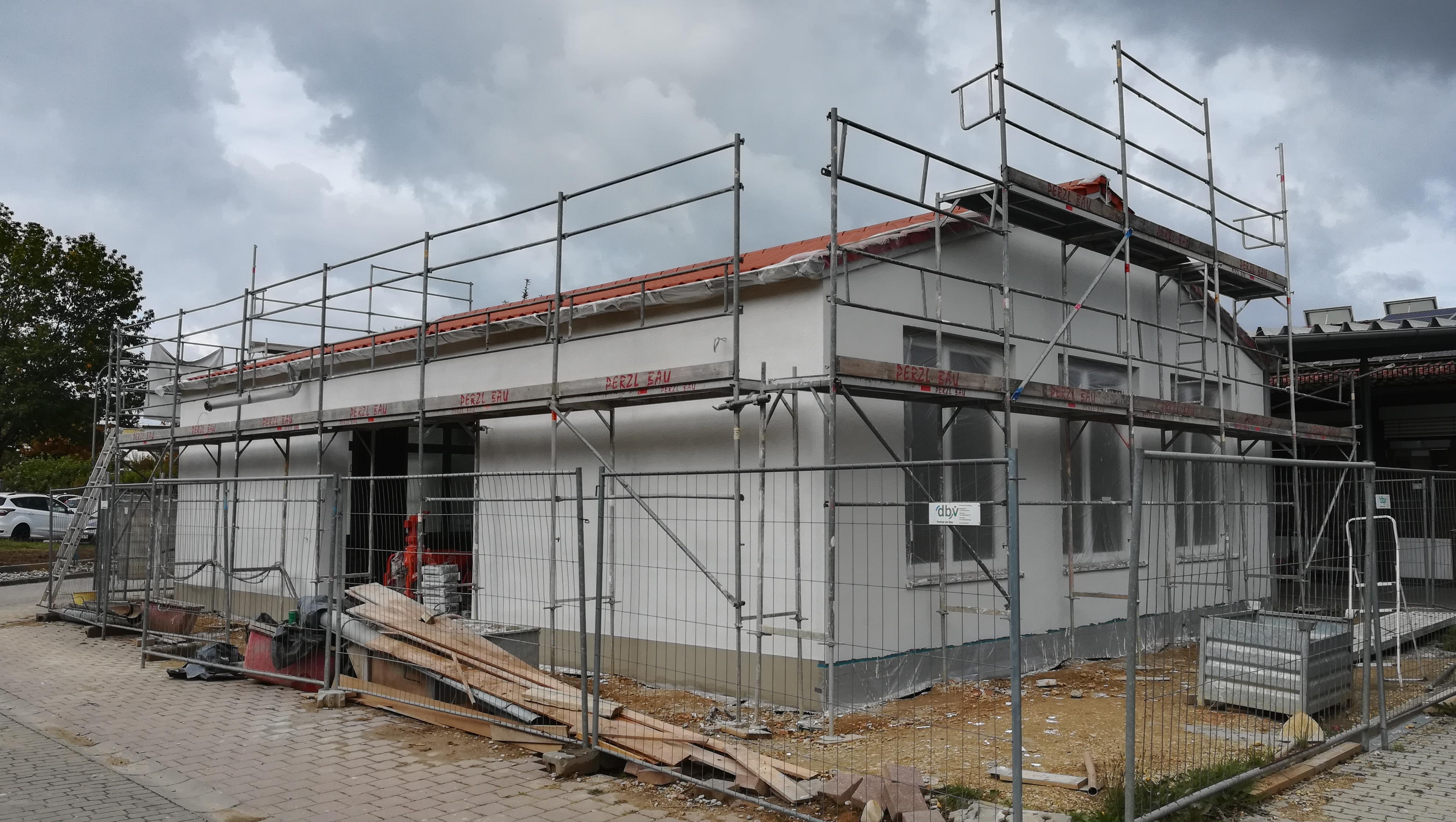 UPDATE: Neubau einer Lagerhalle in Vilsbiburg