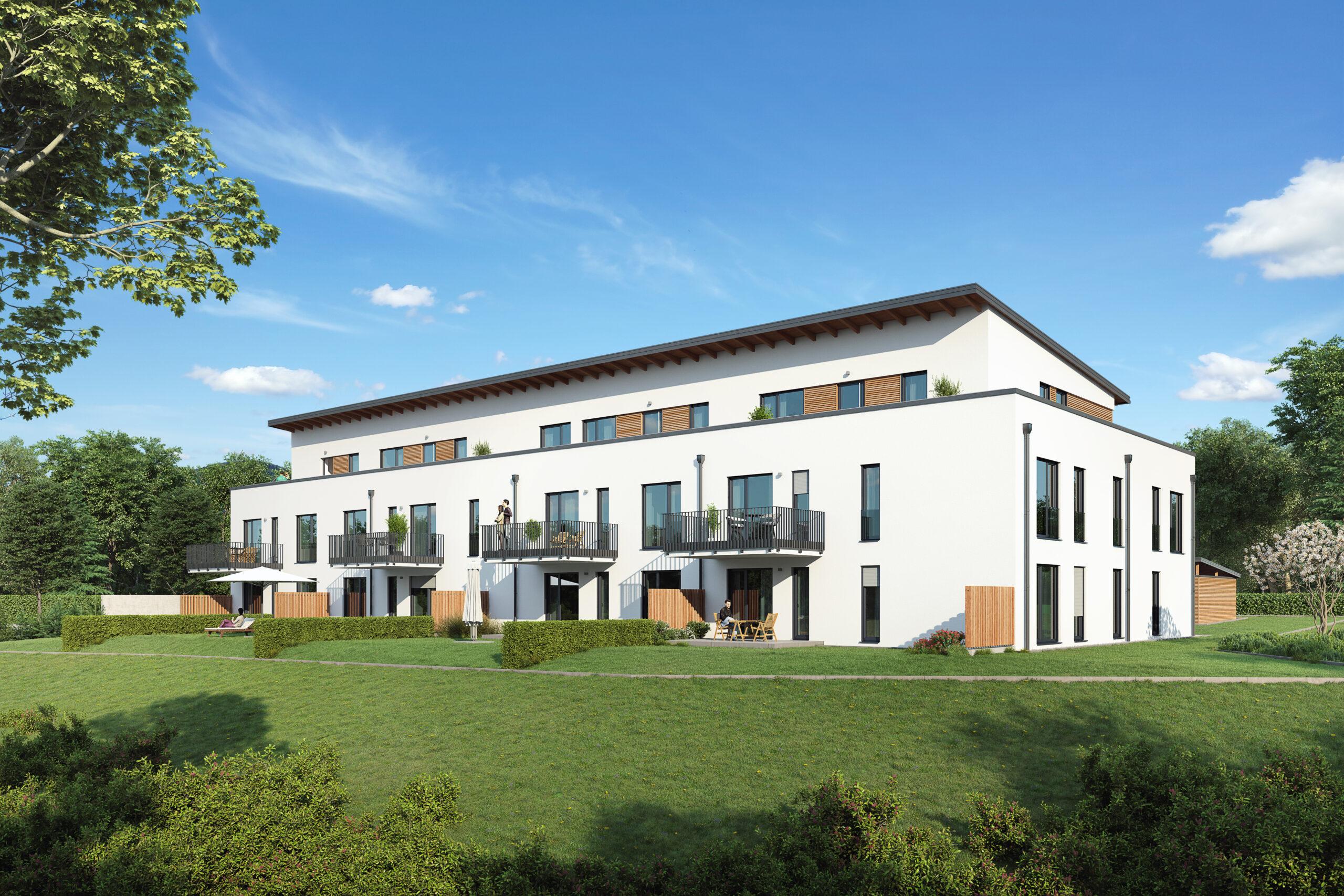 Neubau Wohnanlage Eichendorf